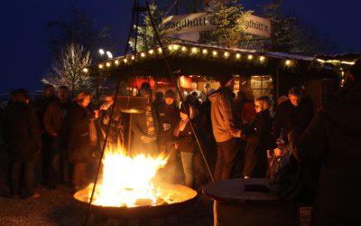 Bergweihnacht - Weihnachtsfeuer